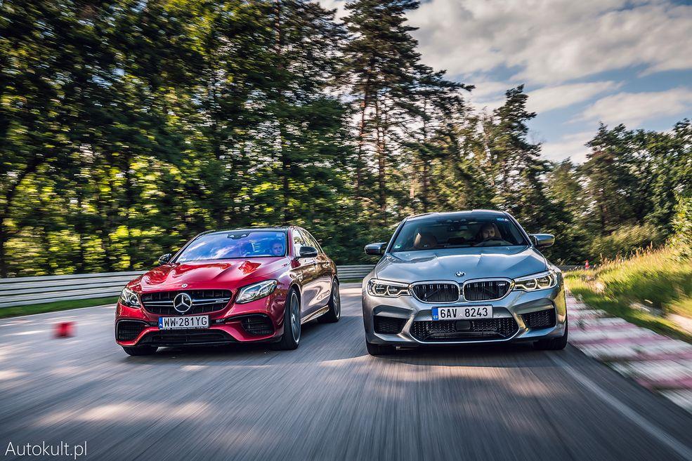 Mercedes-AMG E63 S (2019) vs BMW M5 (2019) (fot. Konrad Skura)