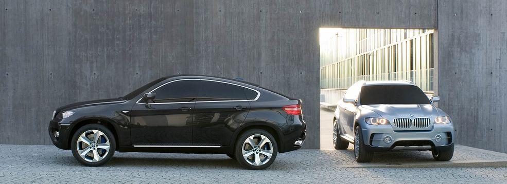 BMW X6, tu jeszcze w formie studium modelu do produkcji (2007) (fot. BMW)