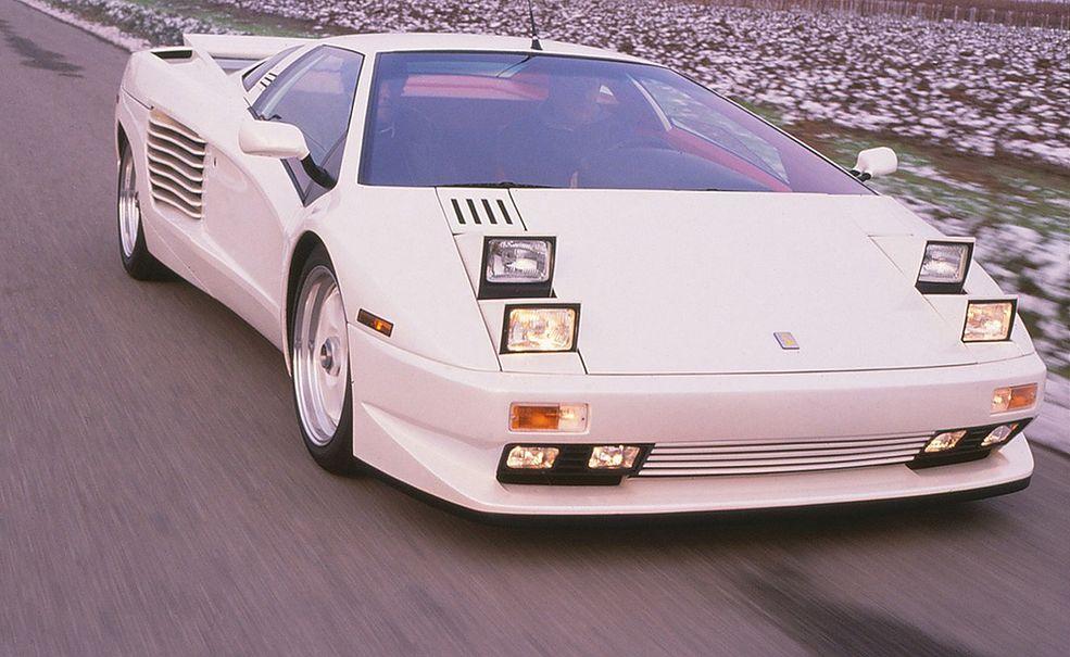 Cizeta V16T miała być pierwotnie Lamborghini. Stało się jednak inaczej