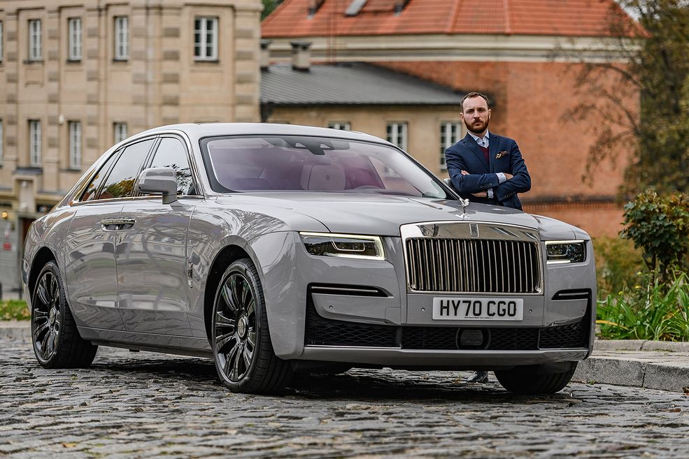 Rolls-Royce Ghost II (2020) (fot. Dominik Kalamus)