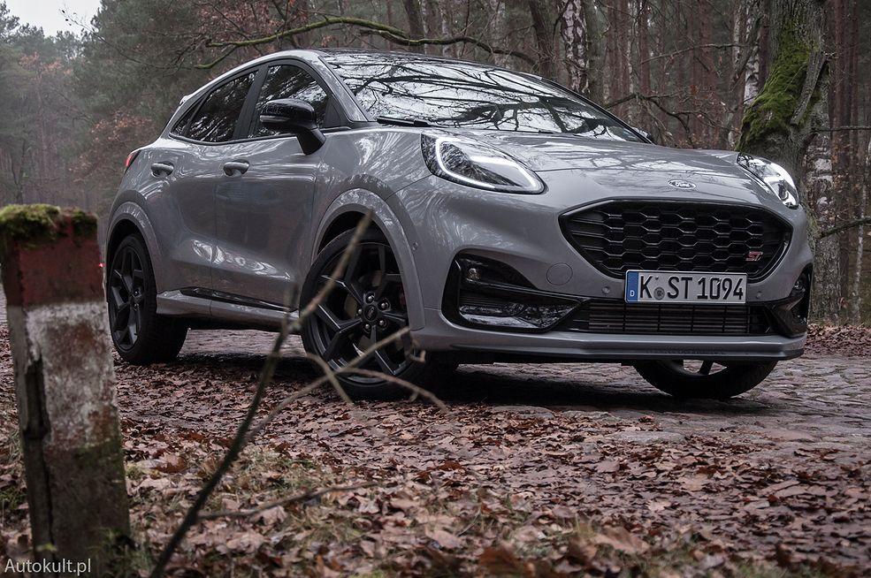 Ford Puma ST (2020) (fot. Mateusz Żuchowski)
