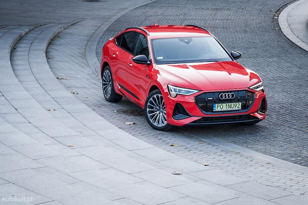 Audi e-tron Sportback 55 quattro (2021)
