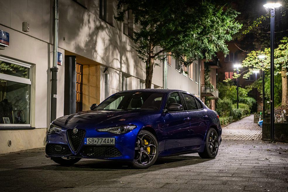 Nadwozie Giulii bez wątpienia należy do jednego z najbardziej oryginalnych na rynku