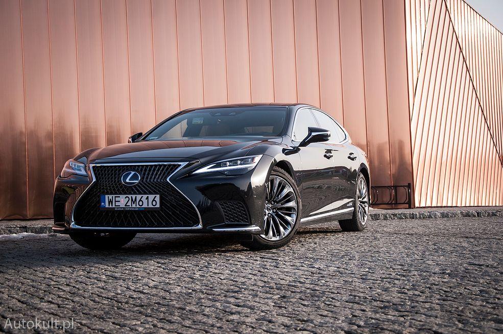 Lexus LS 500h (2021)