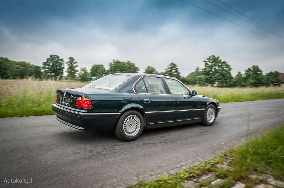 BMW 740i (1997) (fot. Mateusz Żuchowski)