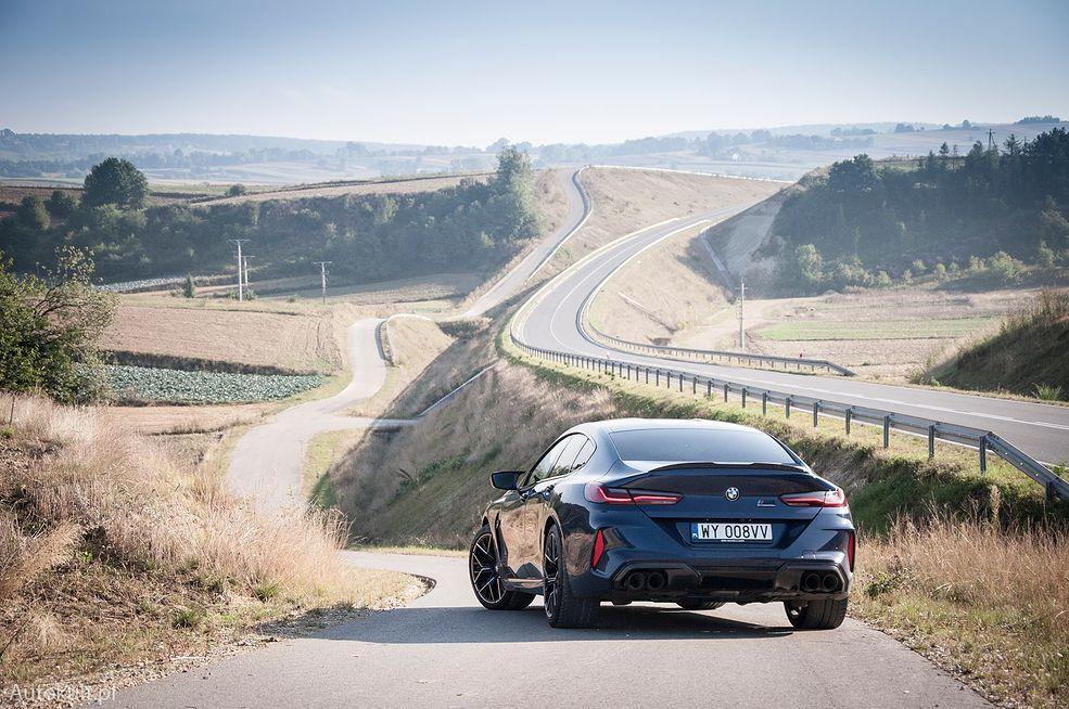 BMW M8 Competition Gran Coupe (2020) (fot. Mateusz Żuchowski)