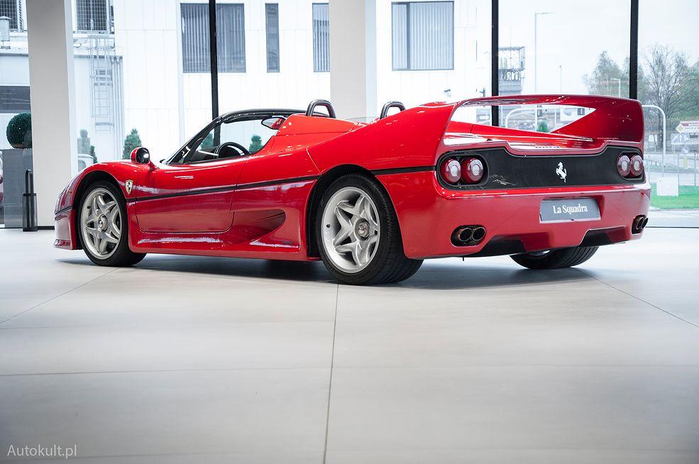 Ferrari F50 (1996) (fot. Mateusz Żuchowski)