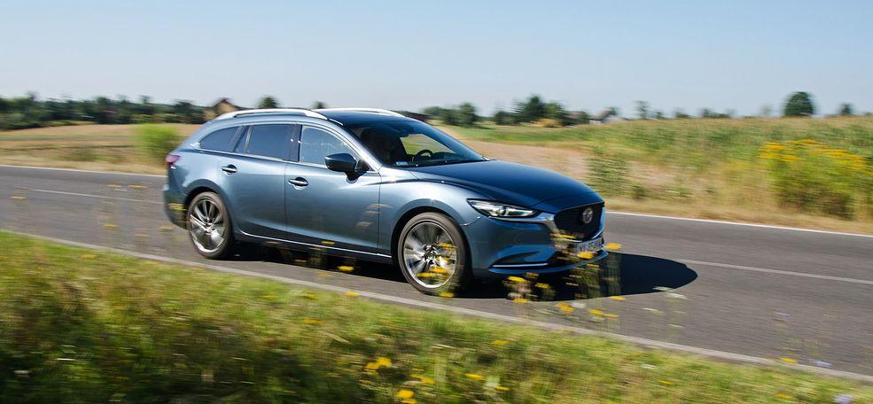 Mazda 6 pomimo upływu lat jest niewątpliwie jednym z najładniejszych samochodów klasy średniej, zwłaszcza w gronie wersji kombi.