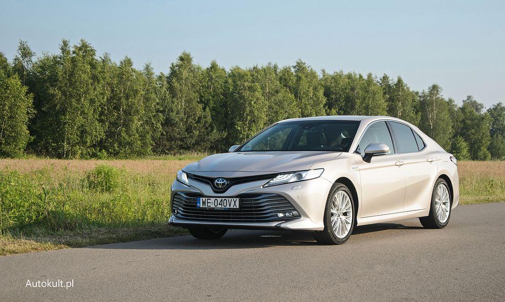 Toyota Camry może być hitem sprzedaży. I to nie tylko wśród menedżerów czy flotowców.
