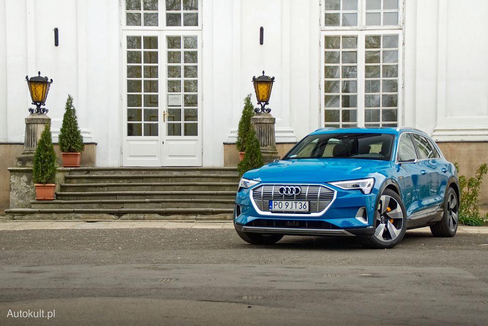 Audi e-tron jest zawieszone niżej niż tradycyjne SUV-y