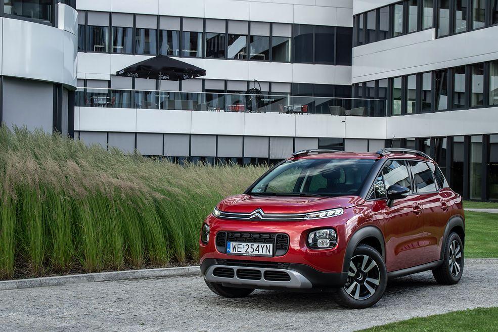 """Citroën C3 Aircross wygląda na mocno """"napompowanego"""""""