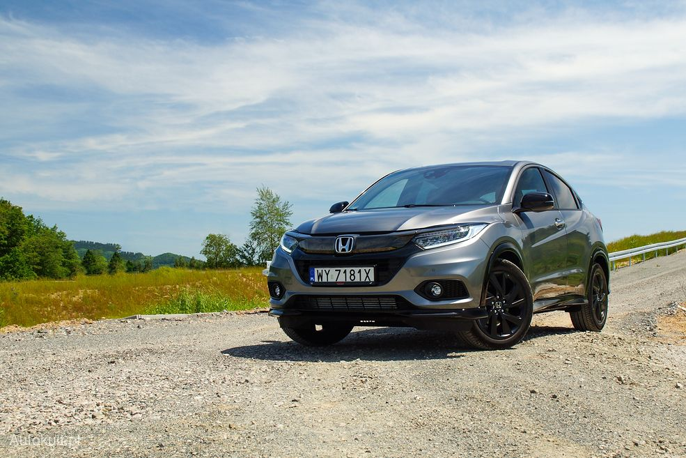 Honda HR-V Sport zachwyca tam, gdzie większość crossoverów zawodzi: na zakrętach