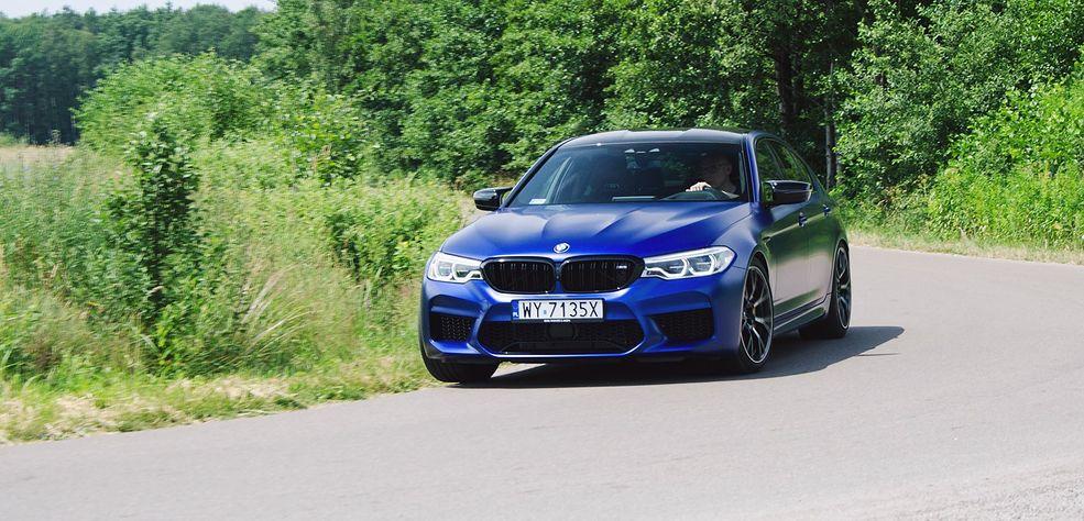 BMW M5 Competition to najmocniejszy sedan w swojej klasie. Jego silnik rozwija moc 625 KM!