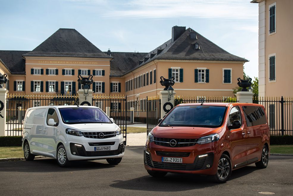 Opel Zafira-e i Vivaro-e