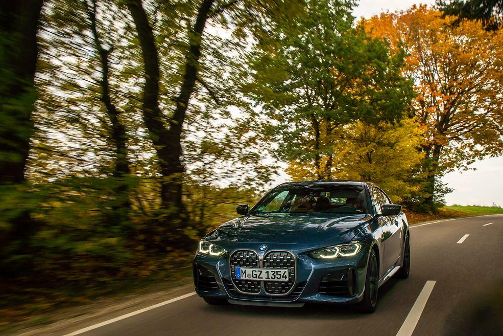 Według stylistów BMW, przód został zaprojektowany zgodnie z zasadą grilocentryzmu