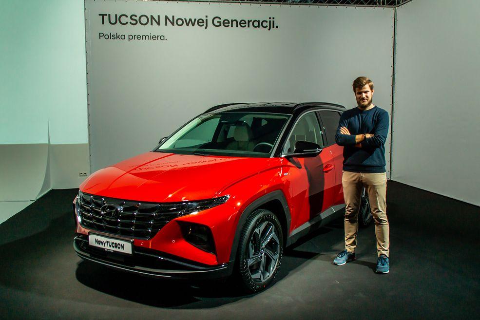 Nowy Hyundai Tucson już na zdjęciach wyglądał świetnie, ale na żywo robi jeszcze lepsze wrażenie