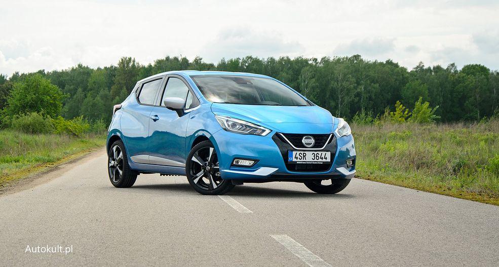 Nissan Micra po liftingu nie zmienił się z wyglądu. Najważniejsze zmiany to nowy silnik i... niższe ceny