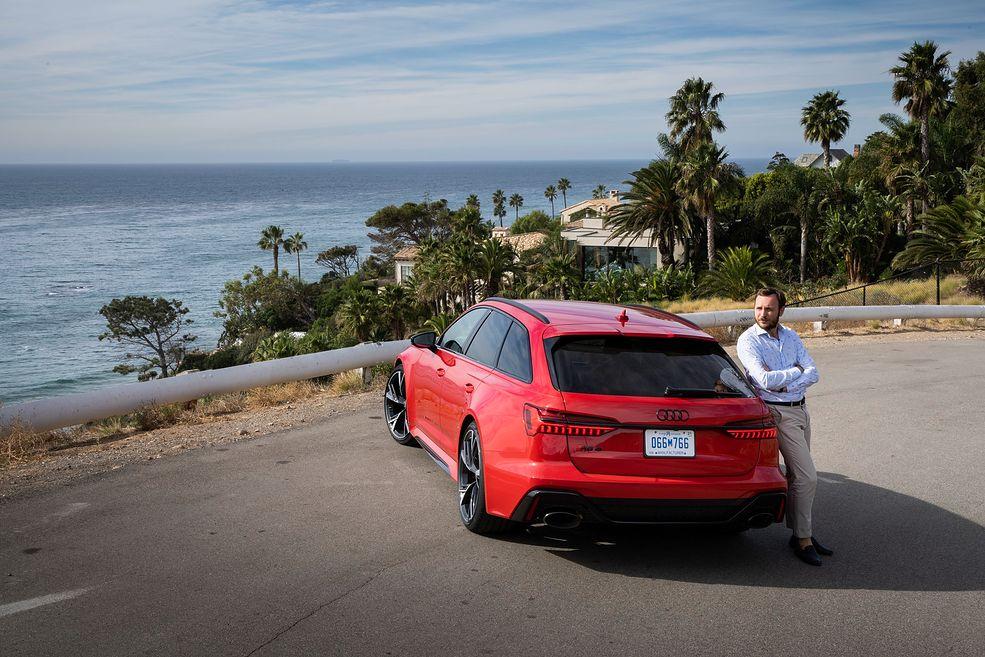 Audi RS 6 Avant (2019) (fot. Tobias Sagmeister)