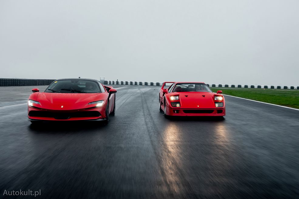 Ferrari SF90 Stradale (2021) vs Ferrari F40 (1990)
