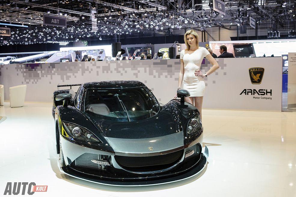 Hostessy Salonu Samochodowego W Genewie 2016 Autokult Pl