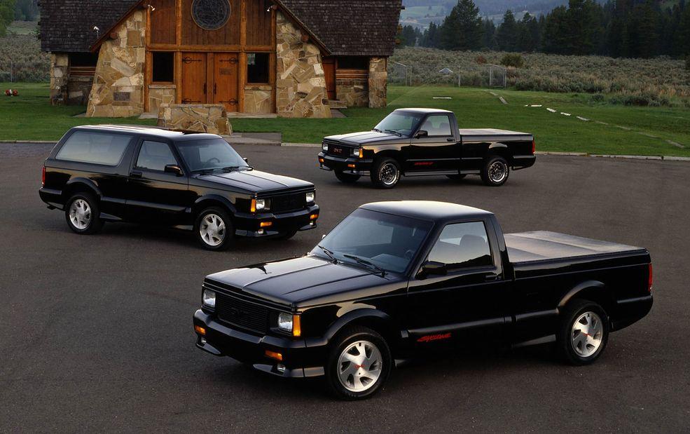 GMC prezentuje najszybszego pick-upa i SUV-a na świecie. Syclone i Typhoon powstały na początku lat 90.