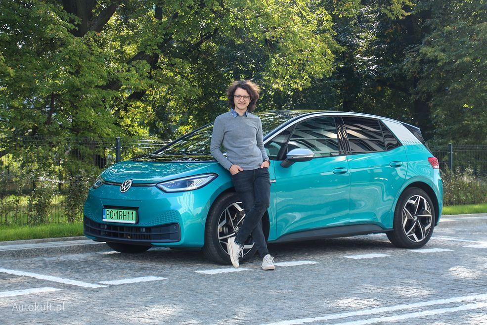 Elektryczny Volkswagen ID.3 rozpoczyna nową erę dla niemieckiego producenta