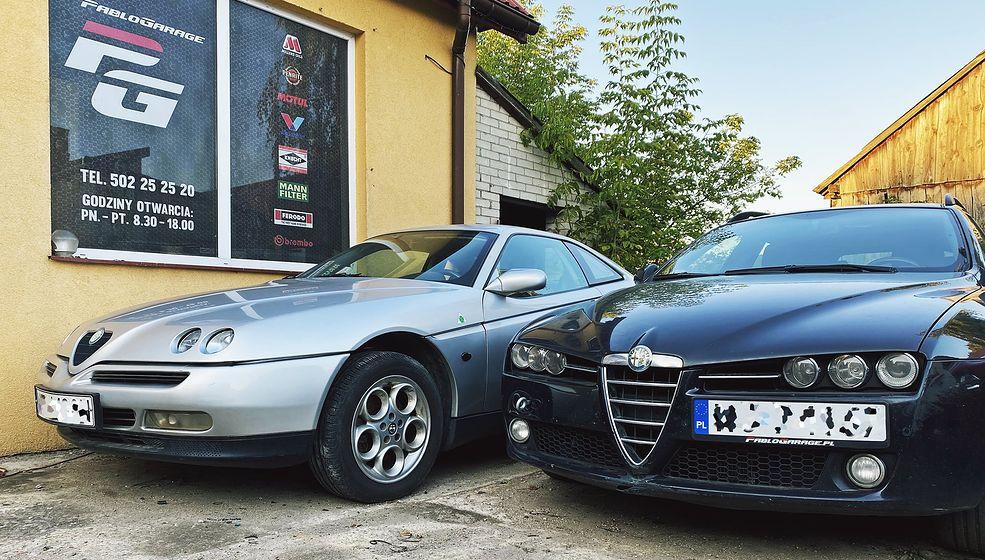 Alfa GTV (z lewej) to świetny zadatek na klasyka, natomiast Alfa 159 (po prawej) - bardzo dobra alternatywa dla audi czy bmw.