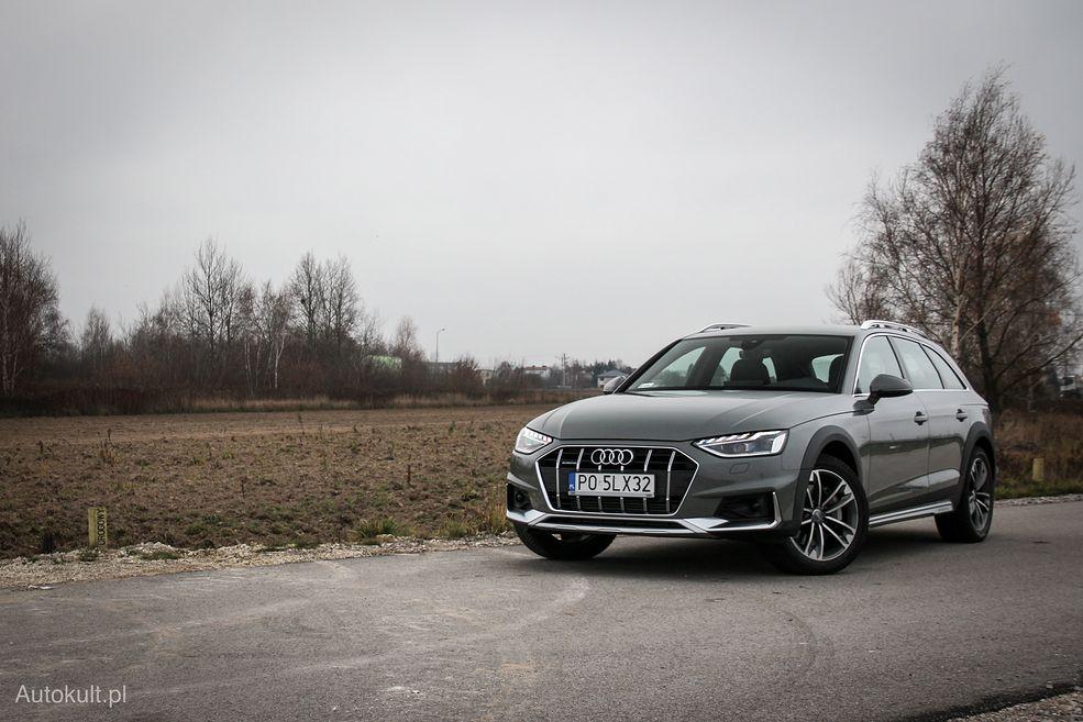 Audi A4 Allroad po liftingu wygląda nowocześniej