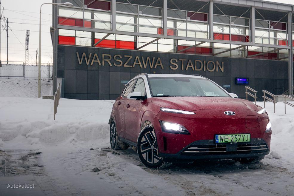 Hyundai Kona Electric po liftingu zmienił się najbardziej z przodu