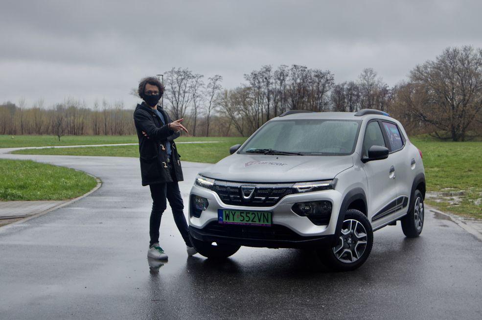 Dacia Spring w tym lepszym, car-sharingowym wydaniu