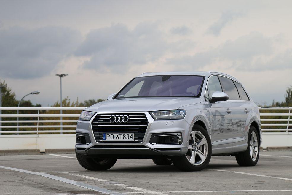 Audi Q7 E Tron Hybryda Test Opinia Dane Techniczne Wrażenia