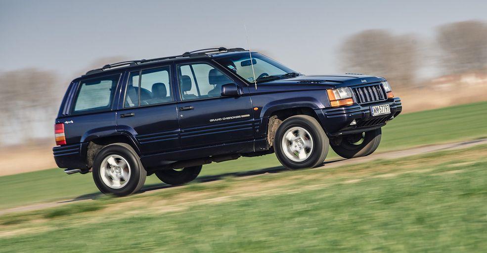 Jeep Grand Cherokee 5.9 Limited LX był finalną wersją tego modelu, a przy okazji najszybszym SUV-em w 1998 roku.