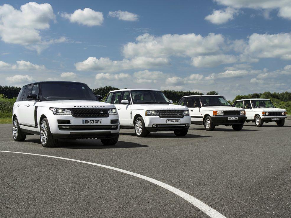 Każda kolejna generacja Range Rovera to ogromny skok technologiczny, ale największy stylistyczny wykonano podczas premiery drugiej generacji