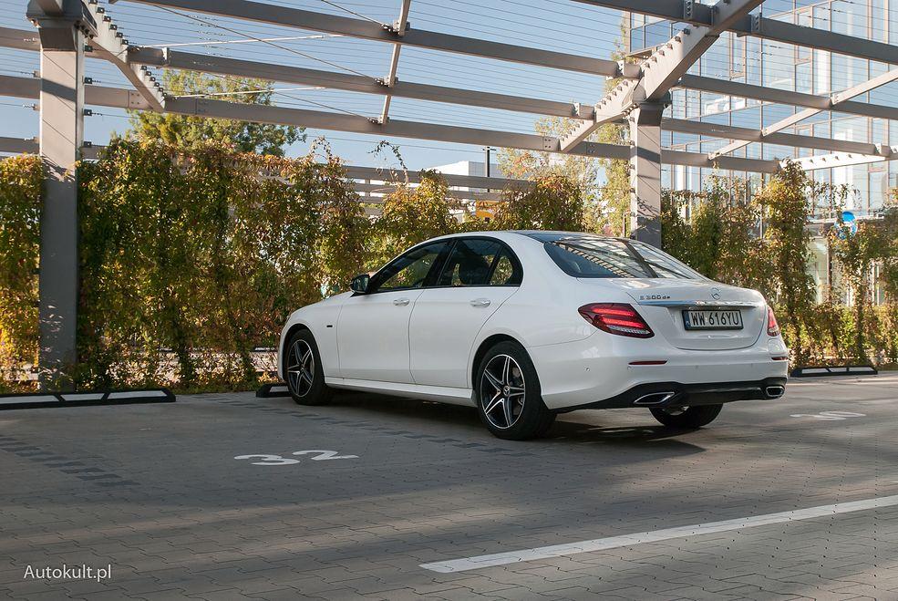 Hybrydowy Mercedes Klasy E