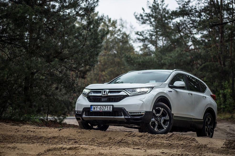 Honda CR-V Hybrid (2020) (fot. Mateusz Żuchowski)