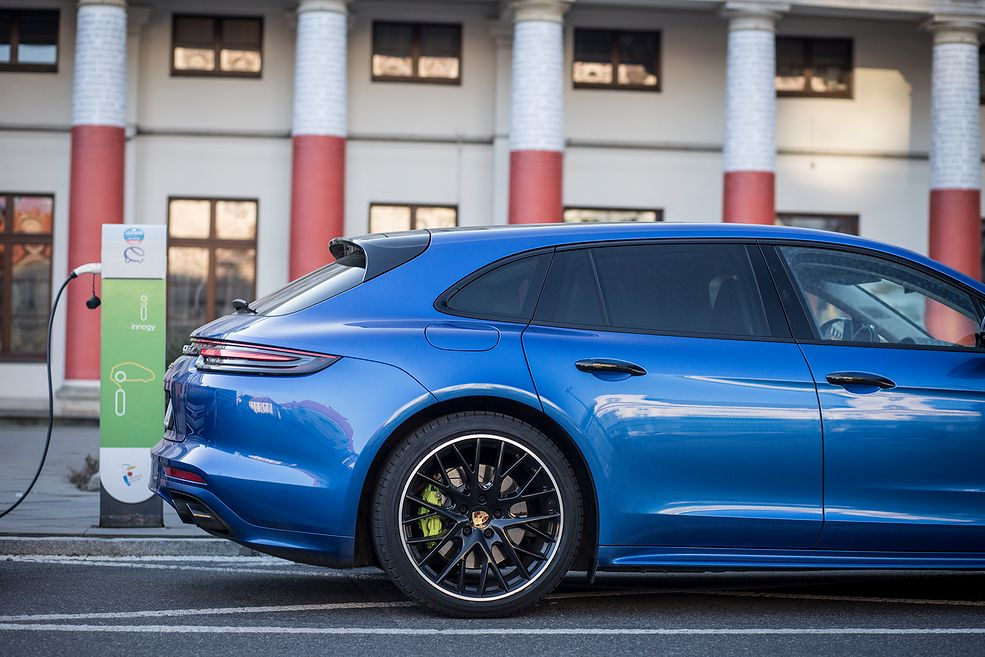 Porsche Panamera 4 E-Hybrid Sport Turismo (2019) (fot. Mateusz Żuchowski)
