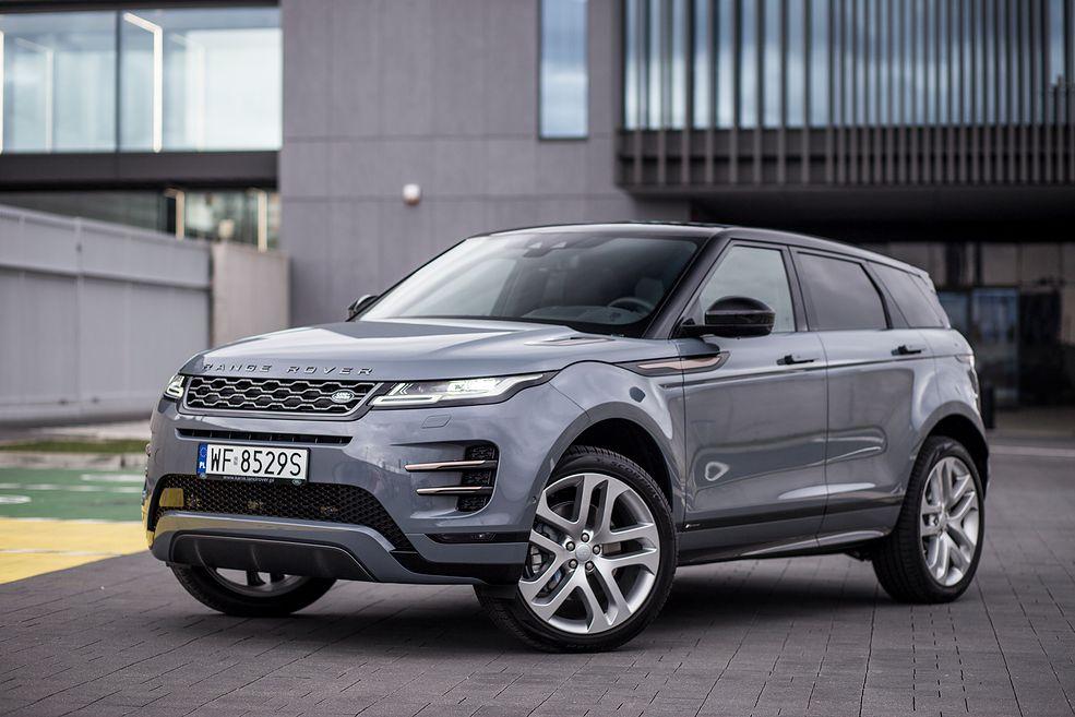 Range Rover Evoque (2019) (fot. Mateusz Żuchowski)