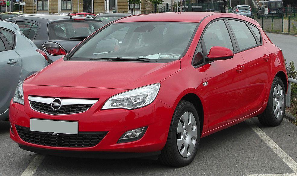 Opel Astra J Dane Techniczne Spalanie Opinie Cena Autokult Pl