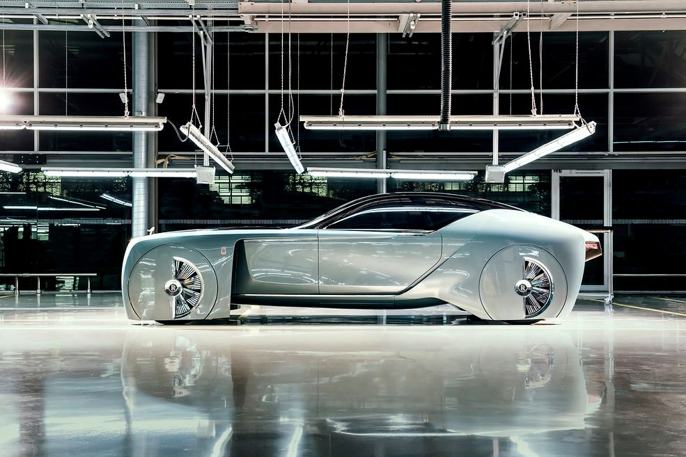 Prototyp Rolls-Royce Vision Next 100; źródło: Materiały Prasowe Rolls-Royce Motor Cars
