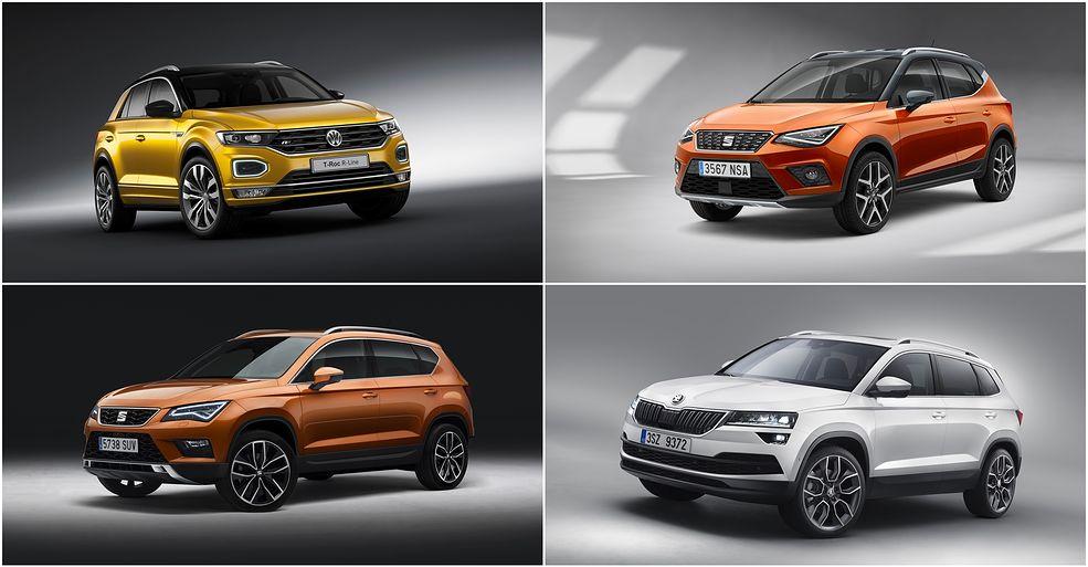 Coraz trudniej się odnaleźć w gamie Grupy Volkswagena. Prześwietlamy SUV-y i crossovery by ustalić co jest czym.