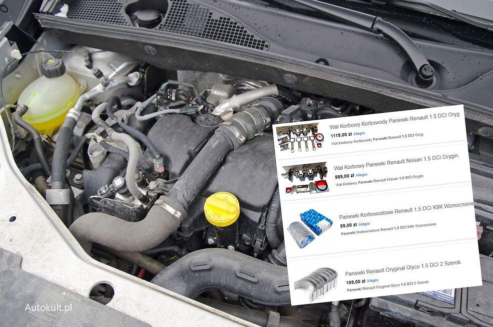 Silnik 1.5 dCi w Dacii Dokker