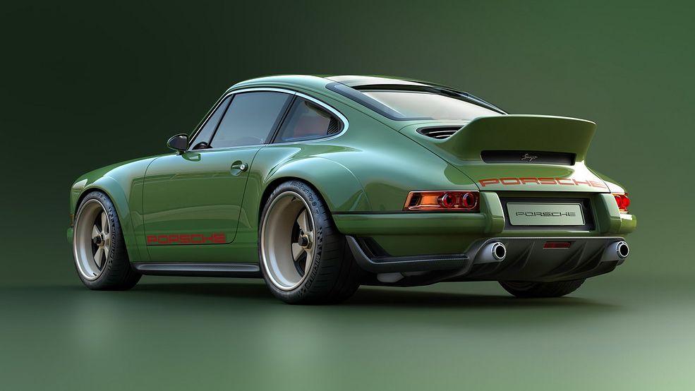 Nowe Porsche 911 Od Singera Firma Wsp 243 łpracowała Z