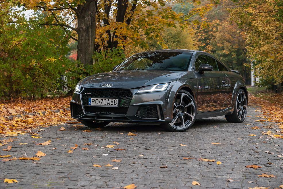 Audi TT RS wygląda jak myśliwiec i prawie nie ustępuje mu osiągami