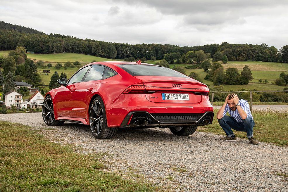 Audi RS 7 Sportback nie pozostawi Cię obojętnym (fot. Tobias Sagmeister)