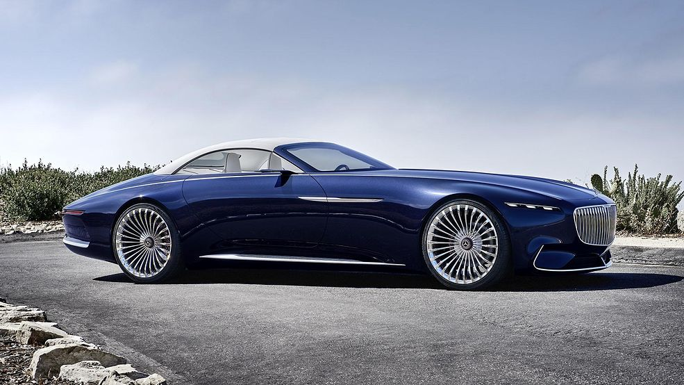 Vision Mercedes Maybach 6 Cabriolet Na Oficjalnym Filmie