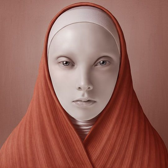 1 Charakterystyczny styl Olega Dou możecie kojarzyć z pudełkiem Adobe Photoshop CS6, na którym znalazł się portret jego autorstwa.