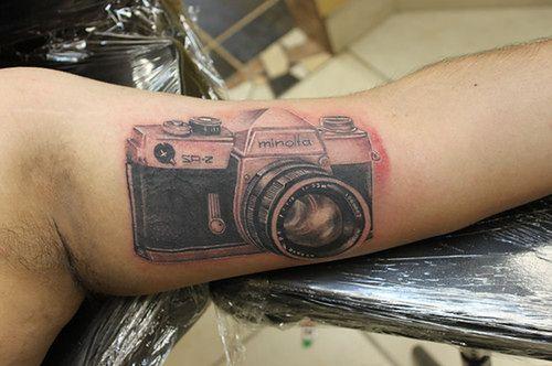 Tatuaże Z Fotograficznym Motywem Galeria Fotoblogiapl