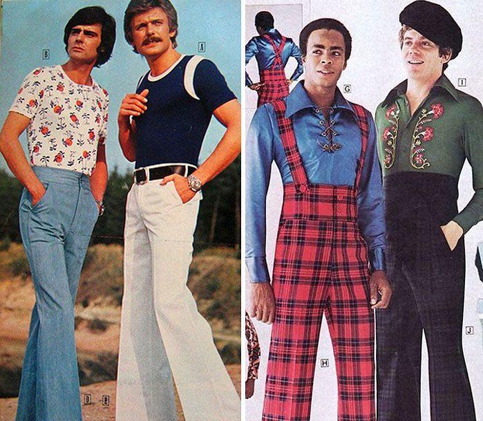 Znalezione obrazy dla zapytania mska moda lata 70