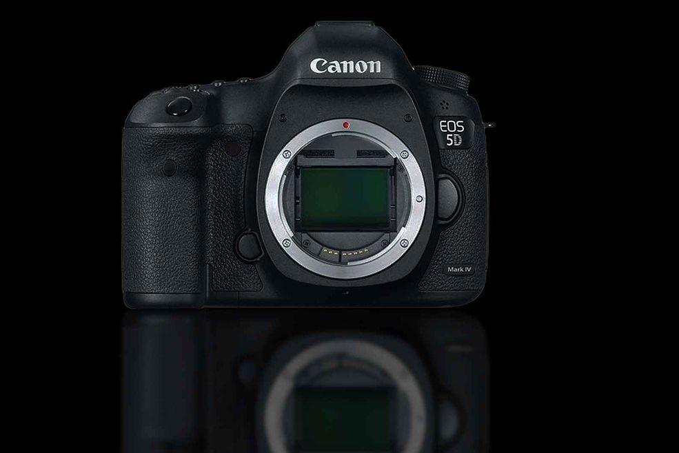 Canon EOS 5D Mark IV mockup