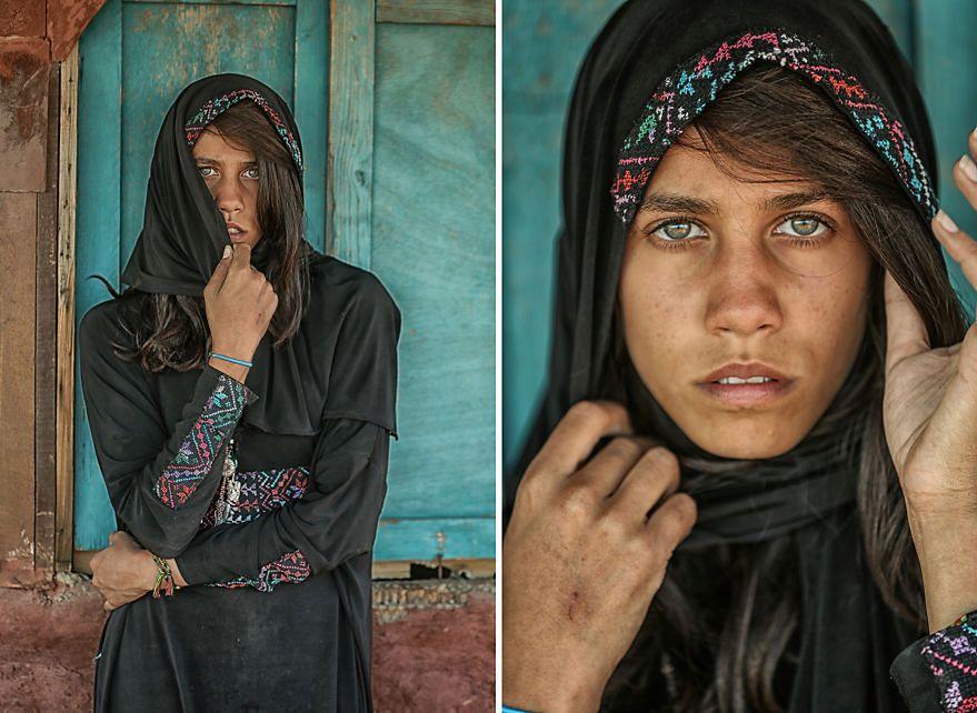 Samo Rera zajmuje się fotografią od 16 roku życia kiedy, jak sam pisze odkrył, że fotografia jest pewnego rodzaju magią… Widać to w cyklu zdjęć, który poświęcił egipskiej nieznajomej, którą poznał w obozie turystycznym.